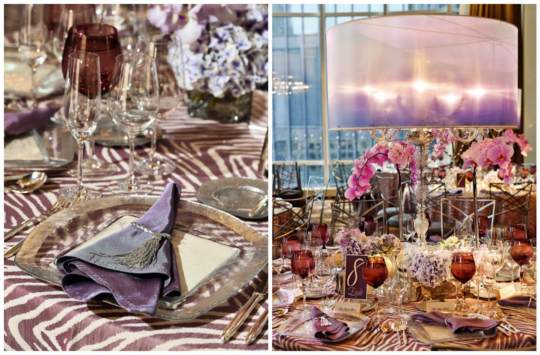 Purple Party Centerpieces | BBJ Linen