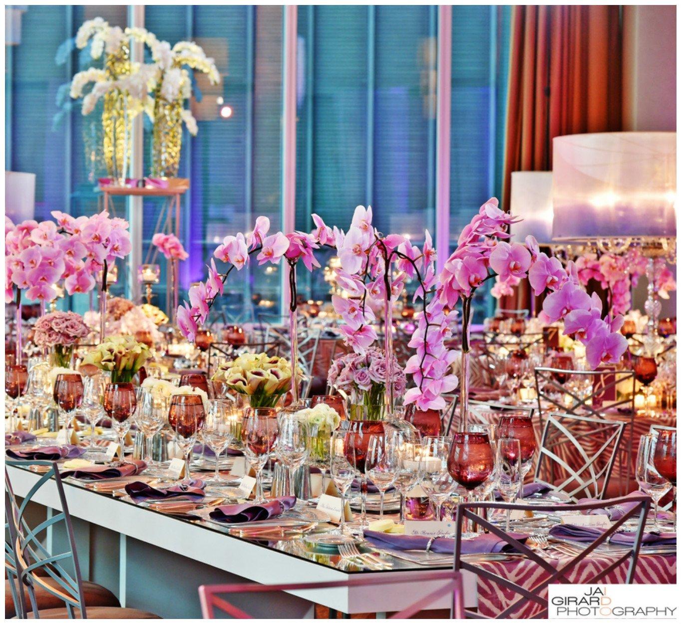 Orchid Centerpiece for Wedding | BBJ Linen