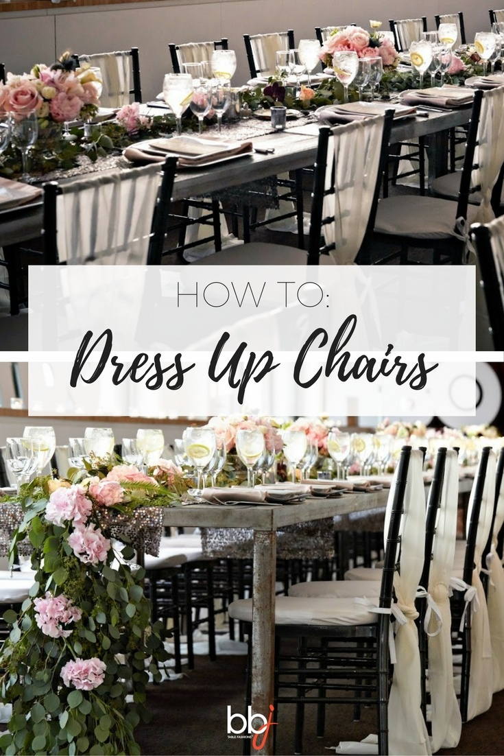 How To Dress Up Chairs