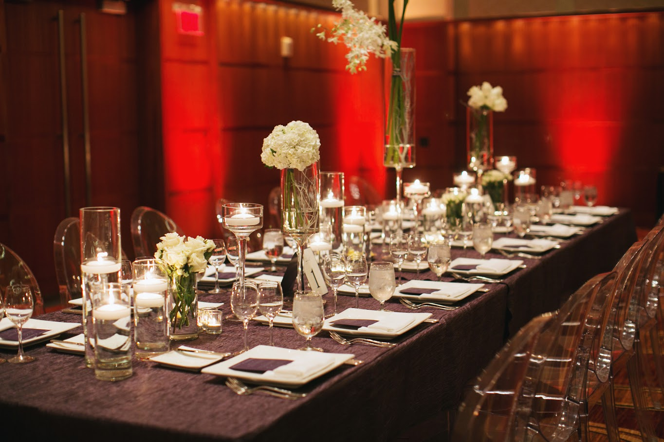 Communal Style Table Setting Event Decor | BBJ Linen