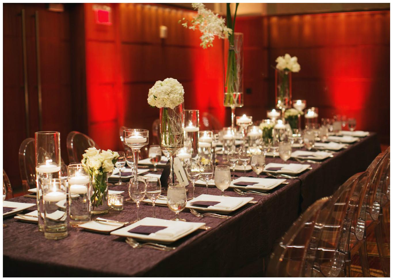 Jam Twist Table Linen with White Lamour Napkins | BBJ Linen