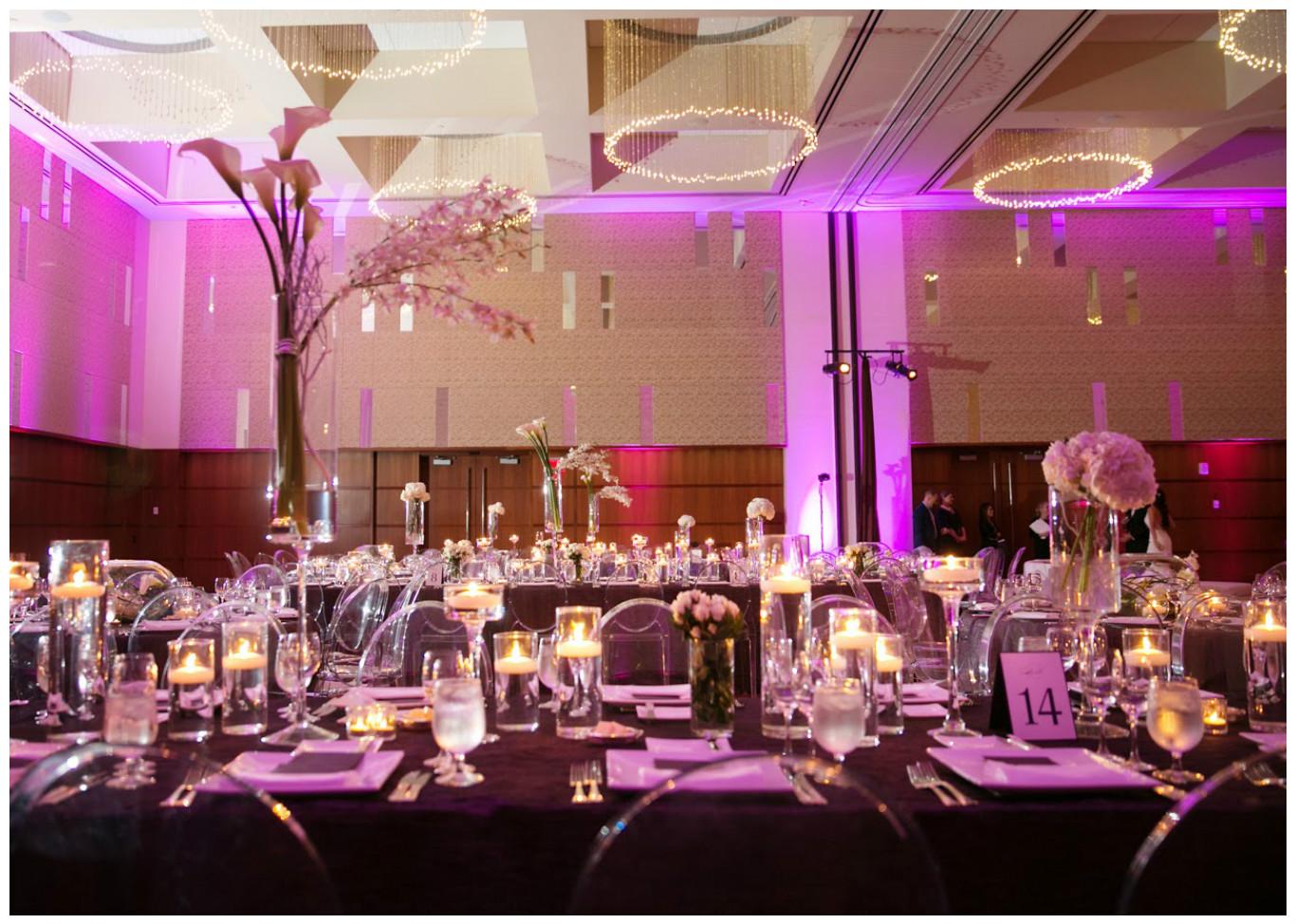 Purple Theme Event Decor | BBJ Linen
