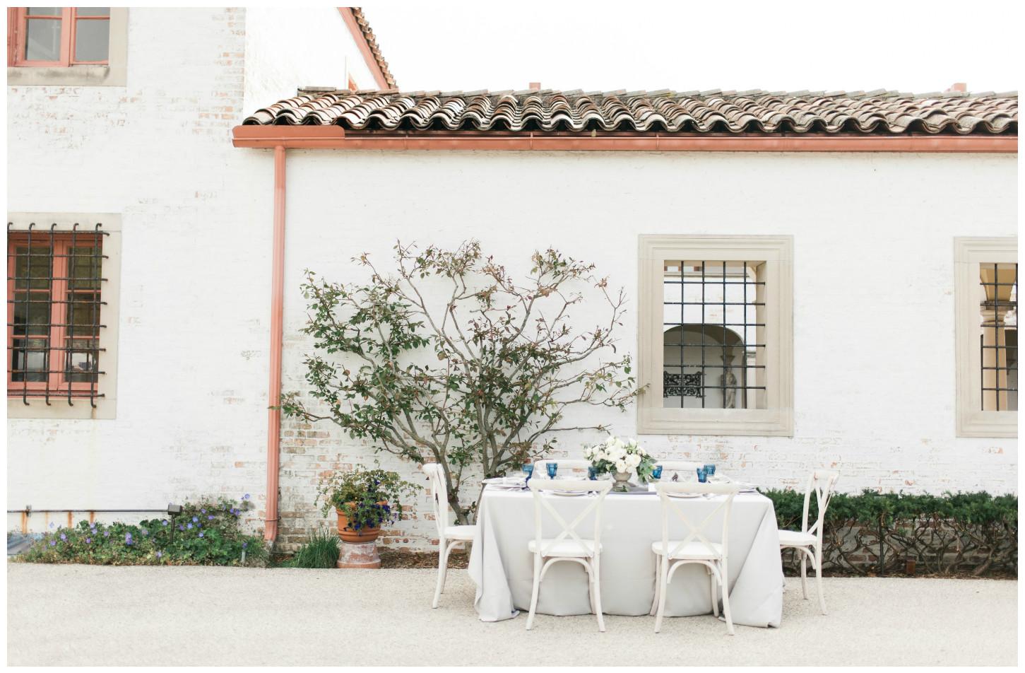 Silver Duet Table Linen White Wedding Decor | BBJ Linen