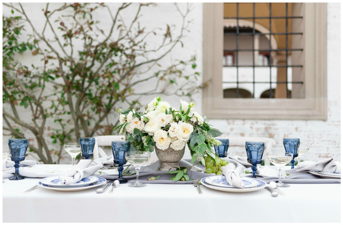 Villa Wedding Decor Centerpiece | BBJ Linen