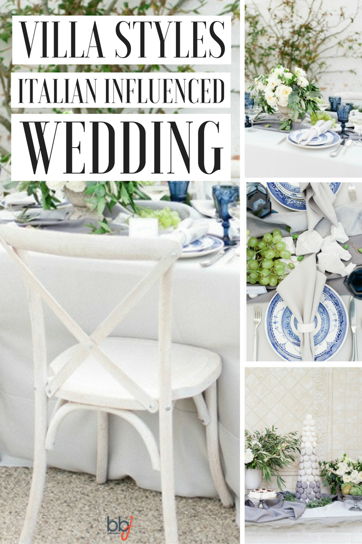 Villa Styles Italian Influenced Wedding Decor