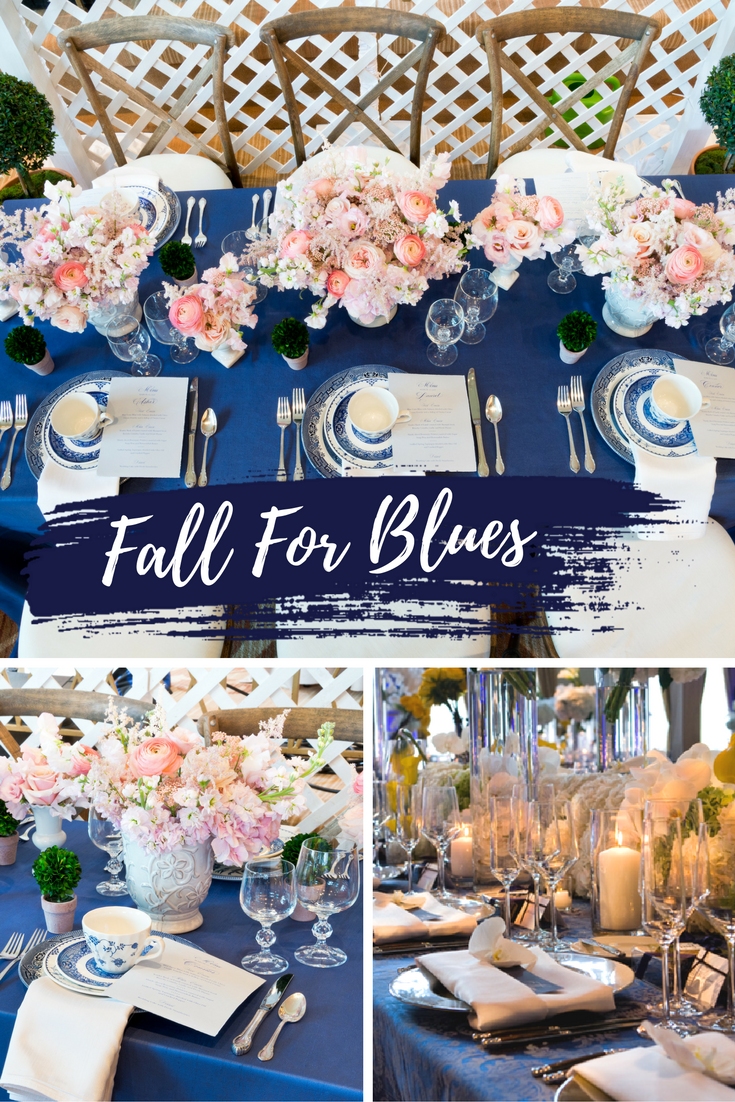 Fall for Blues This Autumn | BBJ Linen