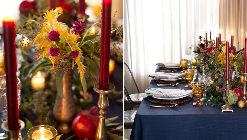 High Couture Harvest Tablescape Event Decor