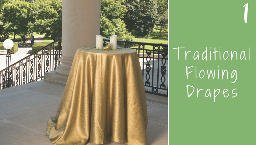 Traditional Flowing Drapes | BBJ Linen