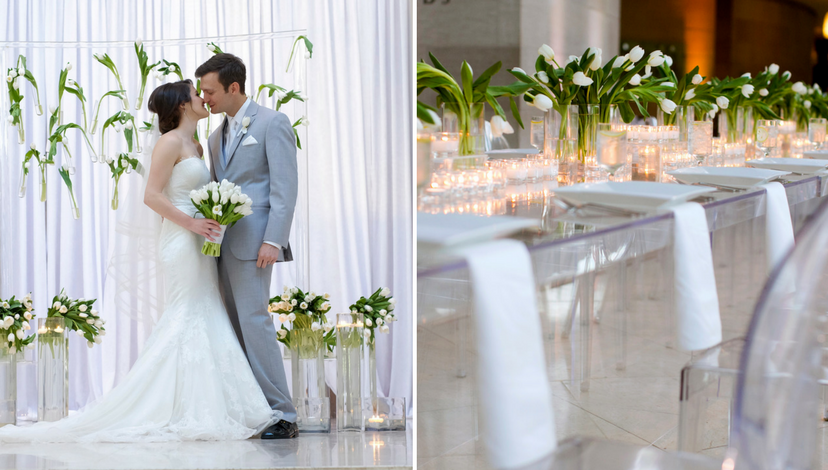 Ultra-Modern Wedding Design | BBJ Linen