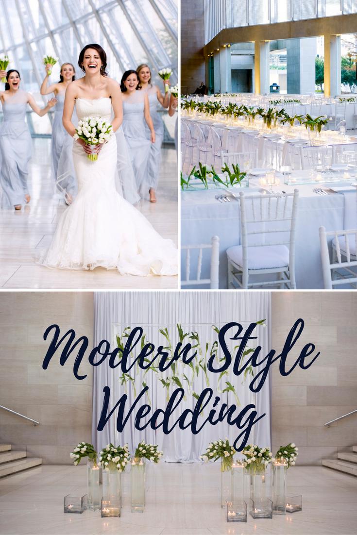 Modern Style Wedding Design