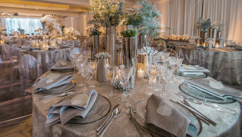 Winter Wonderland Wedding | BBJ Linen