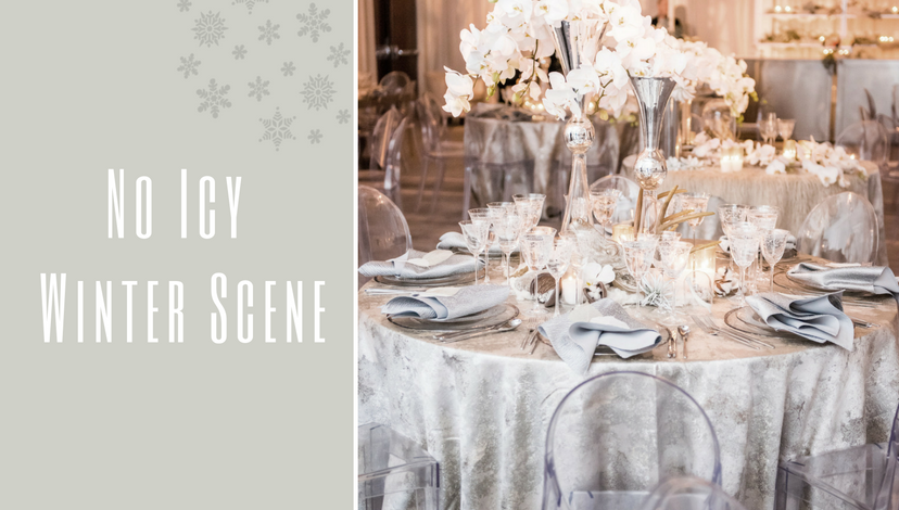 No Icy Winter Scene | BBJ Linen