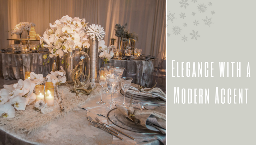 Elegance with a Modern Accent | BBJ Linen