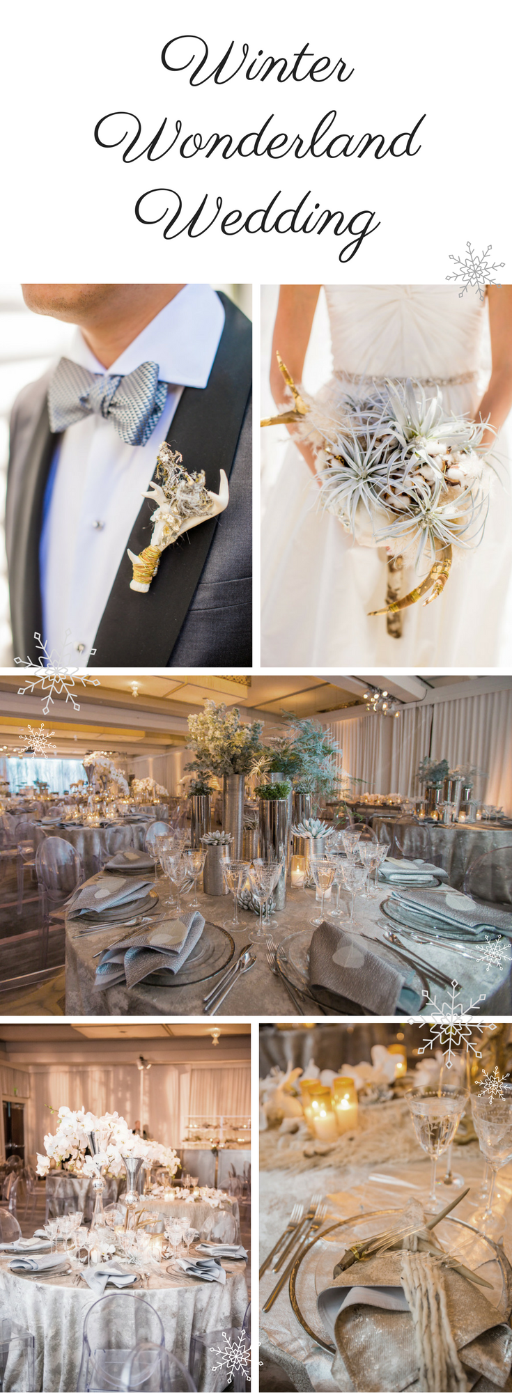 Bring Unexpected Elements into Play for a Winter Wonderland Wedding