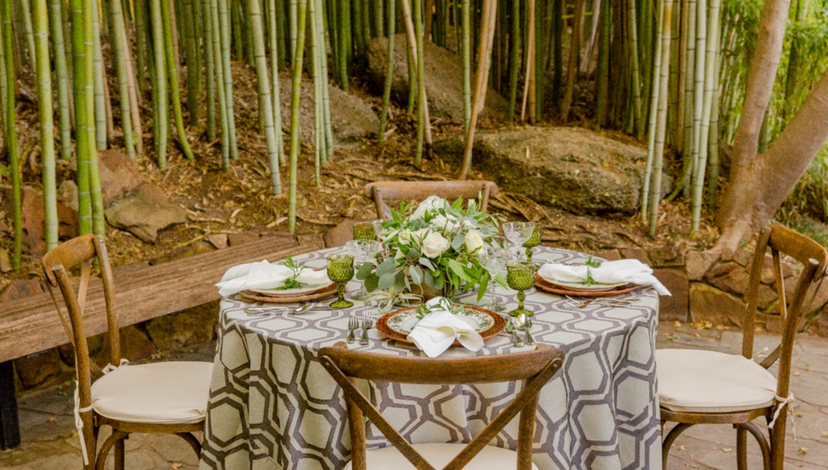 Wooded Greenery | BBJ Linen