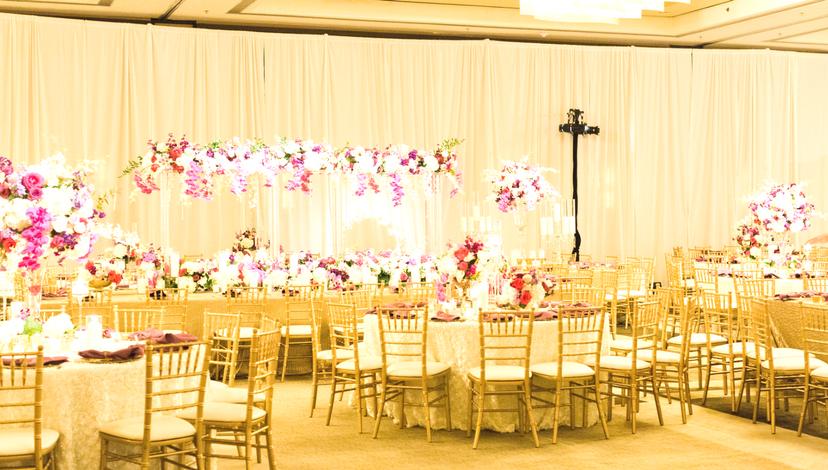 Reception Setting | BBJ Linen