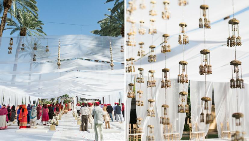 Light and Breezy Outdoor Ceremony | BBJ Linen