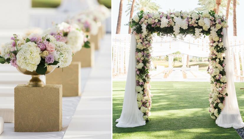 Floral Arc | BBJ Linen