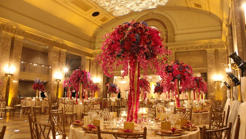 Backdrop of the Coronado Ballroom | BBJ Linen