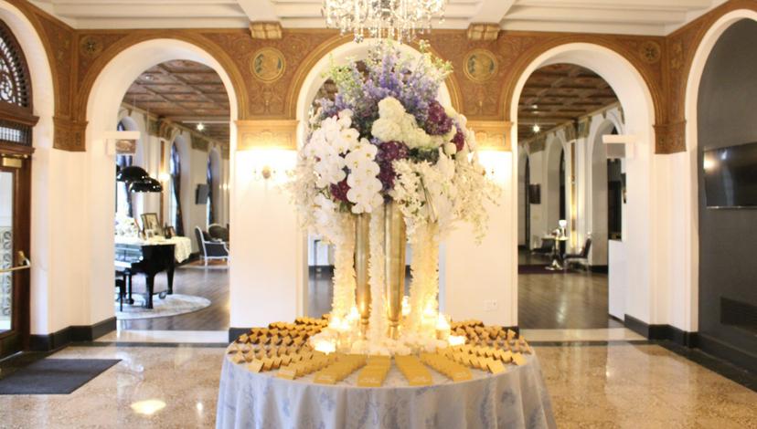 White Floral Arrangements | BBJ Linen