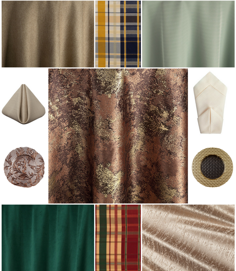 Mountain Wedding Color Palette Mood Board