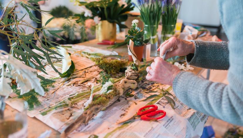 Intrigued Experience 2017 Floral Workshop | BBJ Linen