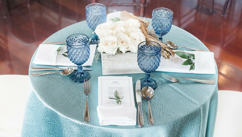 Intrigued Experience 2017 Highboy Table | BBJ Linen