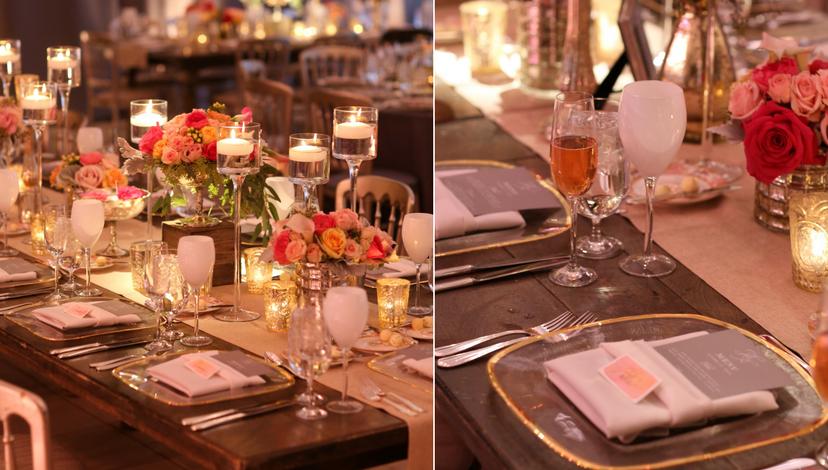 Gold Wedding | BBJ Linen