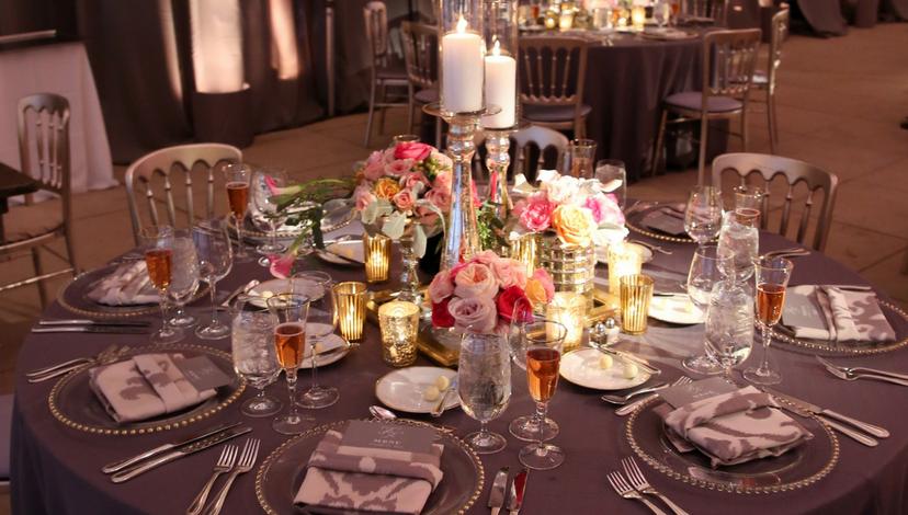 Gray Wedding Inspiration | BBJ Linen