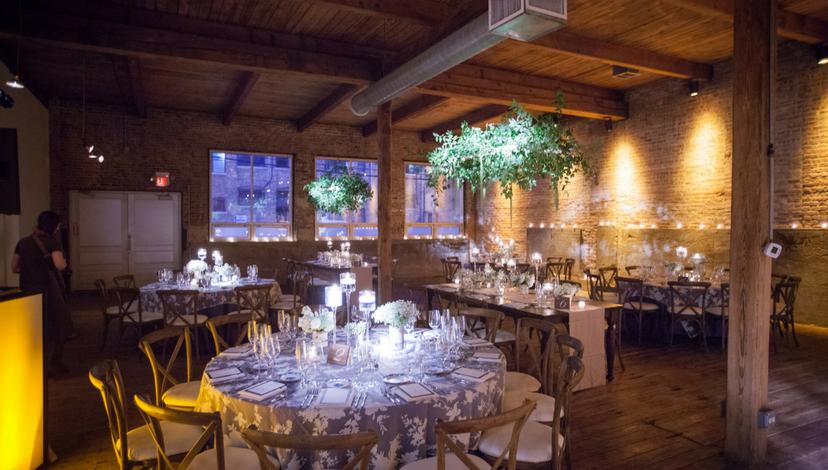 Hanging Greens for Wedding | BBJ Linen