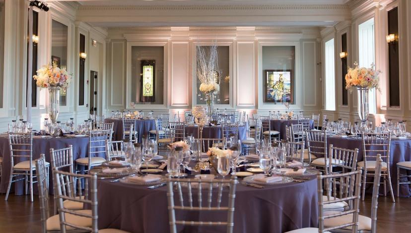 Purple Table Decor | BBJ Linen