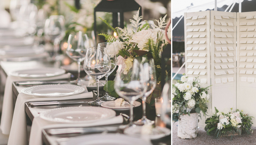 Simple + Chic Reception | BBJ Linen