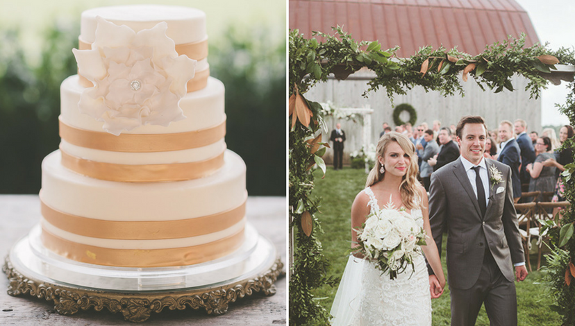 Summer Wedding Cake | BBJ Linen
