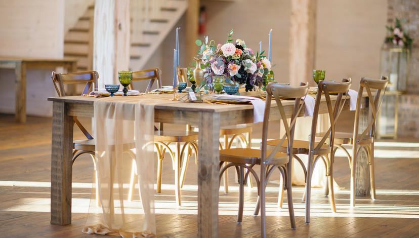 Bright Wedding Table | BBJ Linen