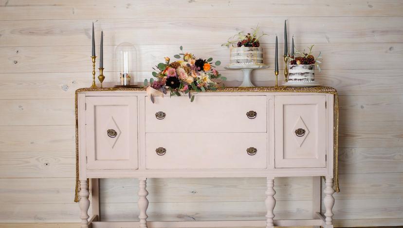 Dresser Cake Table | BBJ Linen