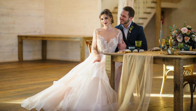 Whimsical Wedding Venue | BBJ Linen
