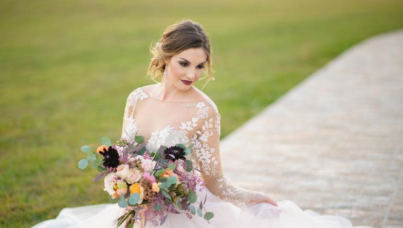 Whimsical Wedding Dress | BBJ Linen
