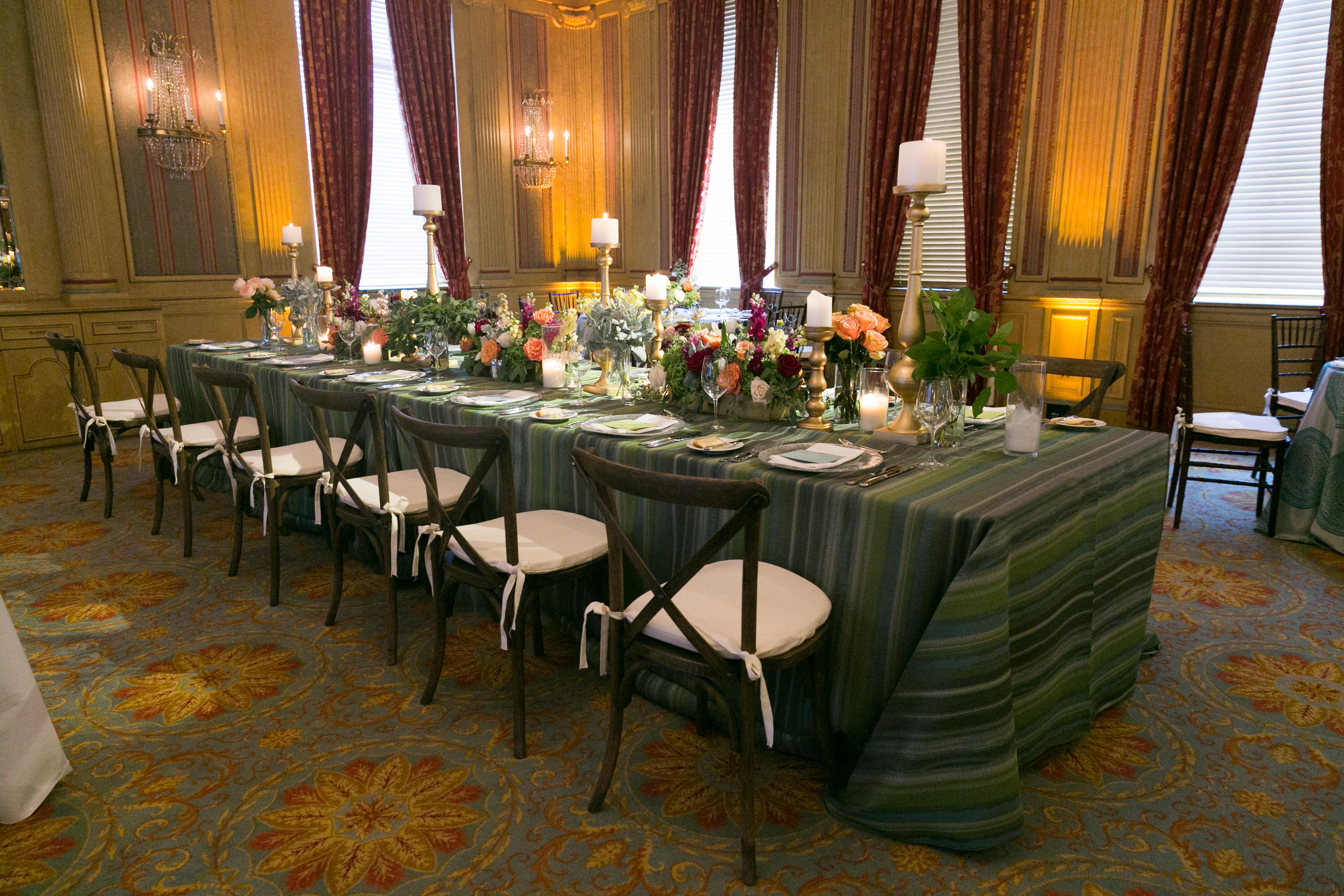 Brunch Style Table Green | BBJ Linen
