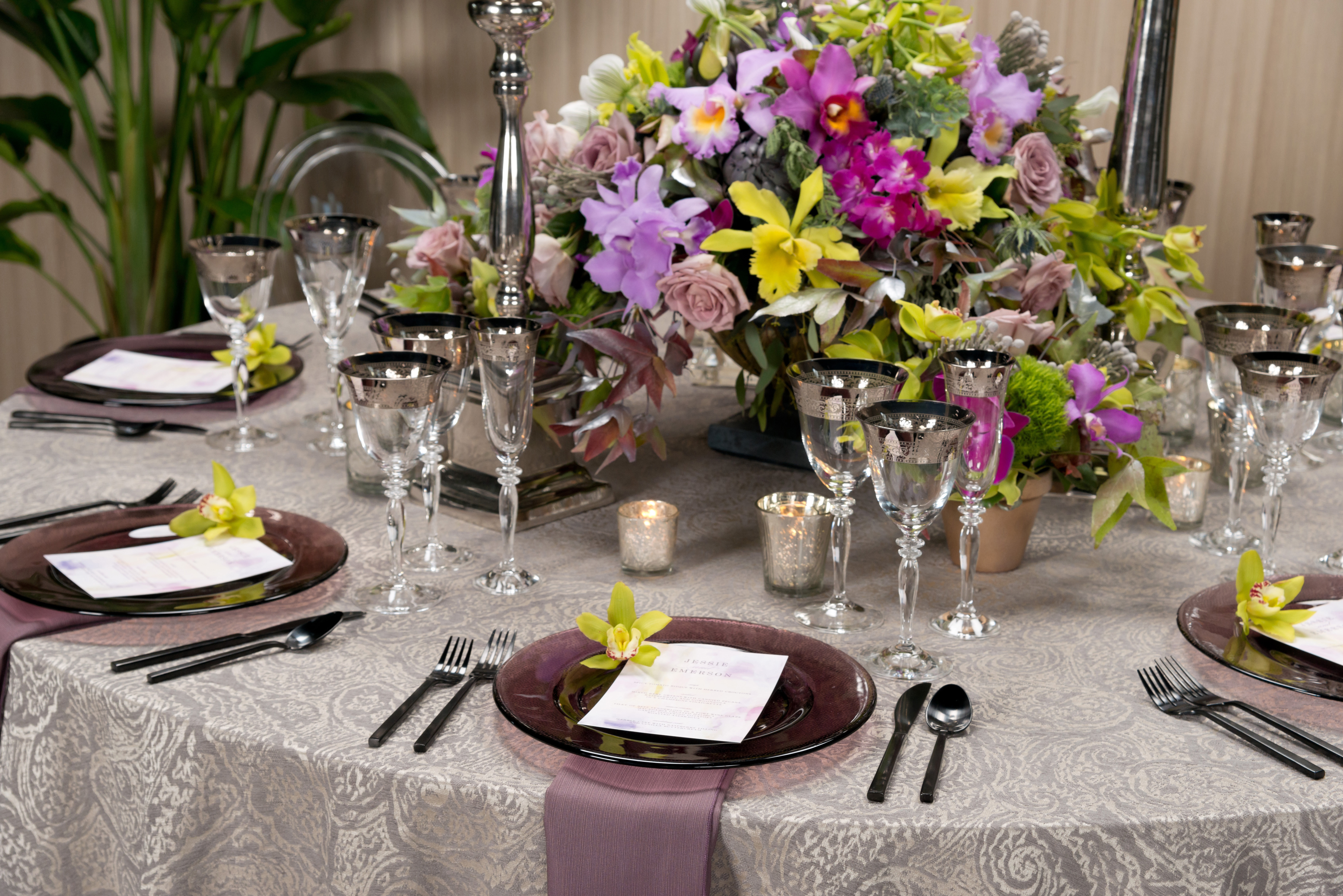 BBJ Linen Everlast Kehoe Collection - Prado Tablescape