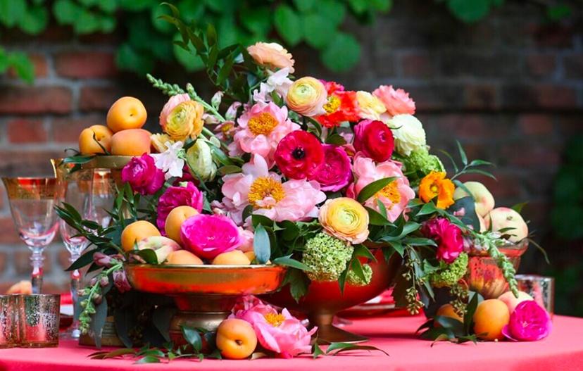 Fruit in Floral Arrangement Design
