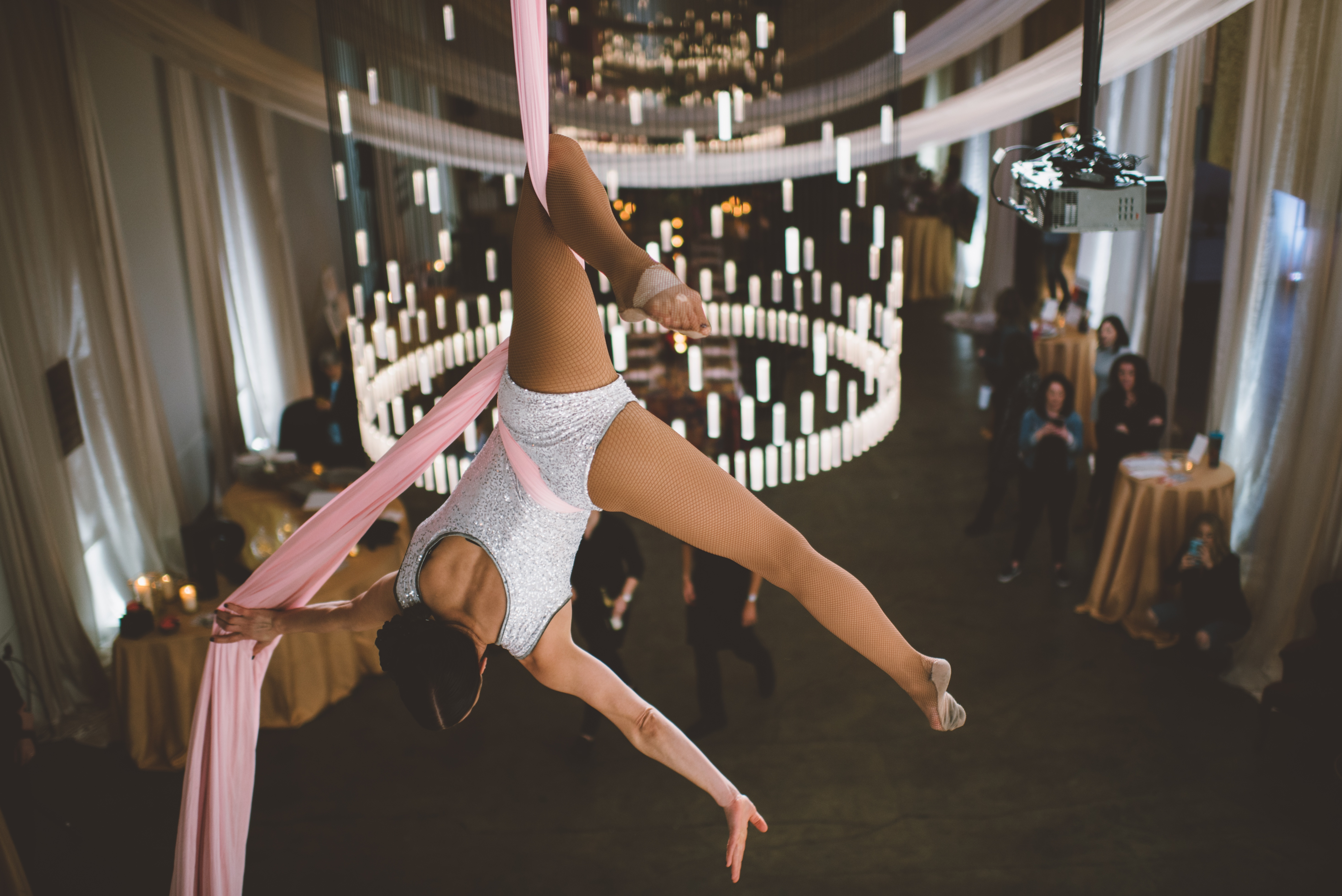 Aerialist Silks for Events