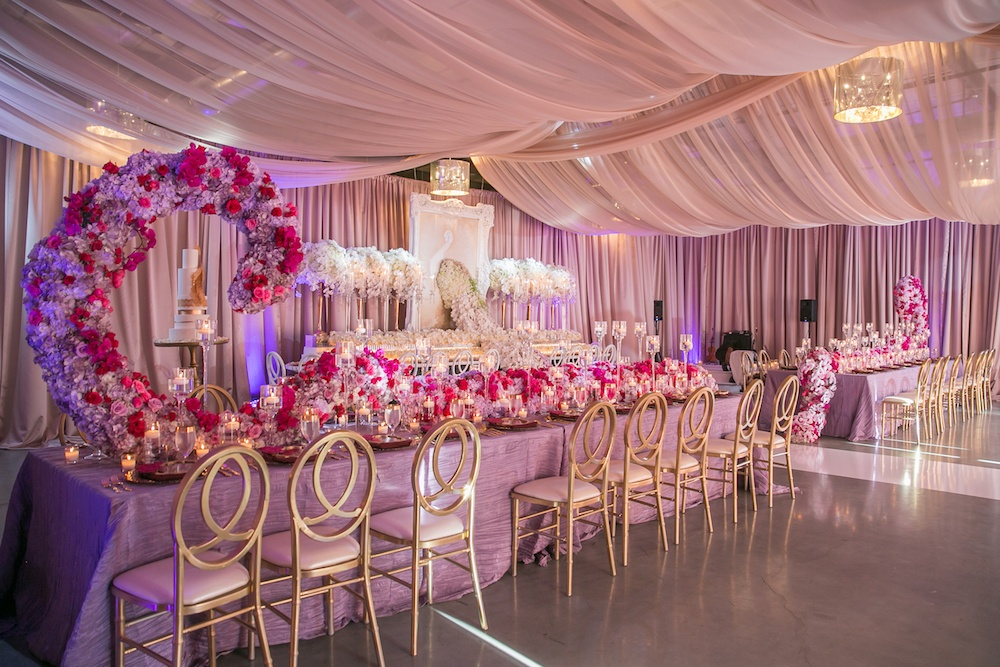 Floral Sculptures for Weddings and Events
