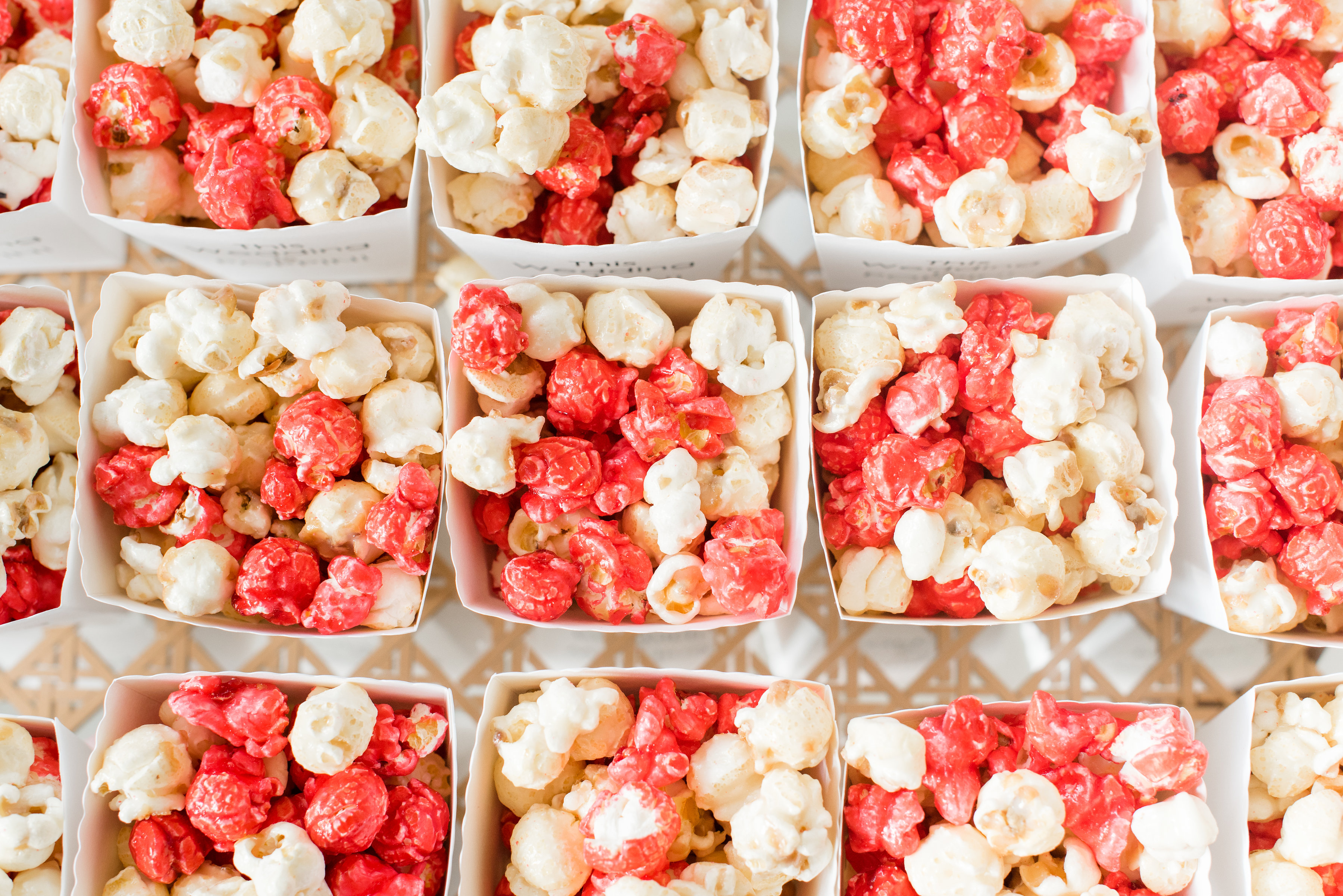 Popcorn Treat Party Favors for Wedding