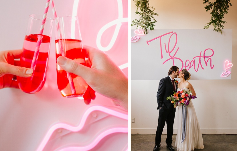 Neon Signs for Wedding Trend