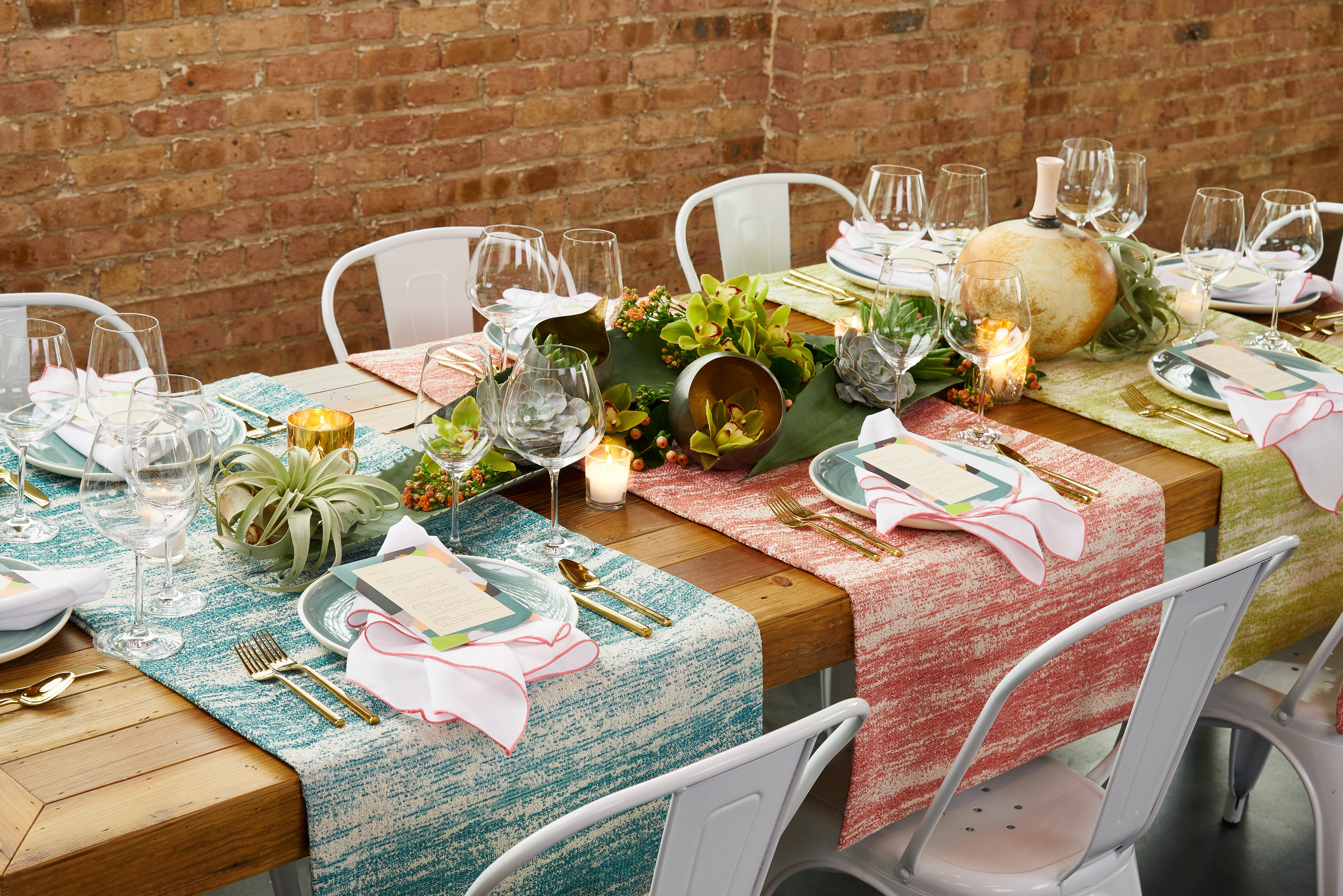 Southwest Color Palette for Events and Weddings
