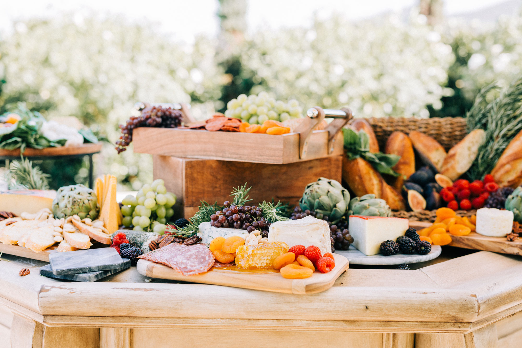 Charcuterie Table Wedding