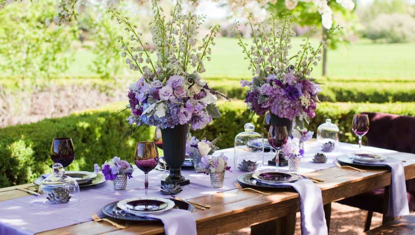 vintage-decor-purple-flowers
