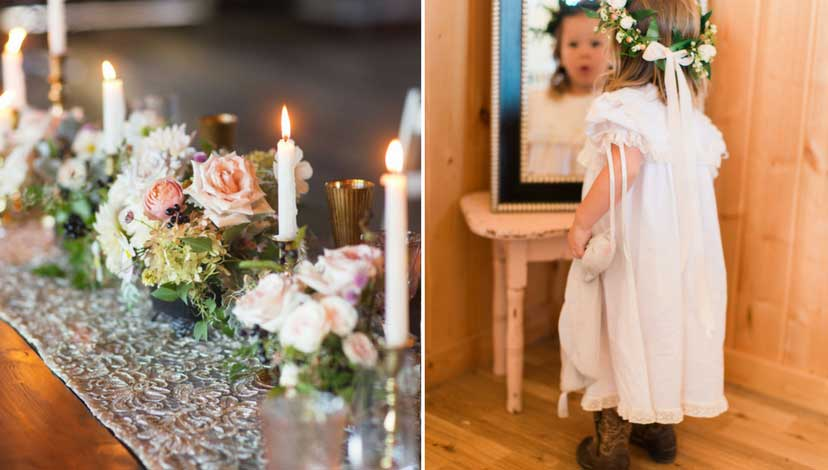 rustic-wedding-candles-child