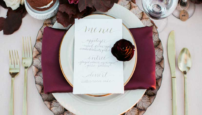 rustic-wedding-menu