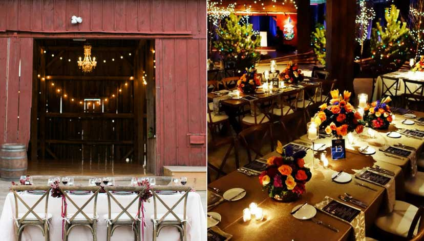 rustic-wedding-dim-lights
